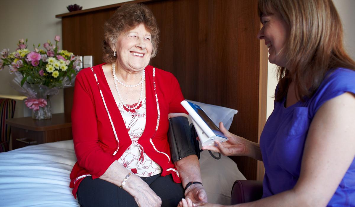 Nursing care for the elderly