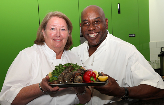 Ainsley Harriott Inspires Our Chef At The Spinney Care Home