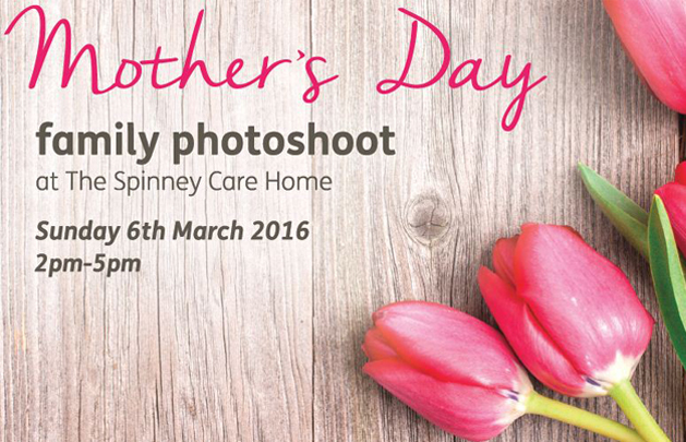 Mothers Day Family Photoshoot at Spinney Care Home